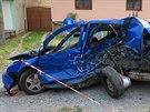 Kuriózní nehoda se stala ve čtvrtek 10. července ve Viničných Šumicích na...