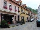 Mnoho domků ve staré židovské třebíčské čtvrti je dnes opravených.