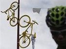 CYKLISTICKÉ DEKORACE. Kolorit deváté etapy Tour de France.