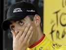 STÁLE V ŠOKU. Tony Gallopin se po deváté etapě Tour de France oblékl do žlutého