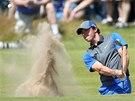 Rory McIlroy na golfovém The Open.