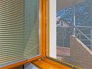 Rámy sítí lze sladit s rámy oken.