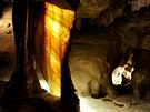 Jeskyně Na Pomezí je nejrozsáhlejší jeskynní systém v Česku.