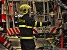 S po��rem p�dy v Lipn�ku nad Be�vou hasi�i bojovali n�kolik hodin. �koda je 5...