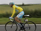 Vincenzo Nibali coby vedouc� mu� Tour de France