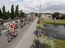 Momentka z 8. etapy Tour de France