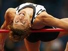 Blanka Vlasičová soutěží ve skoku vysokém na mítinku Diamantové ligy v Paříži.