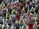 Momentka z 14. etapy Tour de France