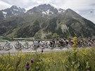 Momentka ze 14. etapy Tour de France