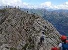 Zaji�t�n� cesta Hindelanger Klettersteig
