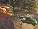 Záběr z animovaného filmu Letadla 2
