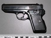 Jedna ze zbraní, kterou odevzdali lidé na Ostravsku policii.