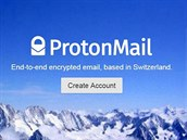 Web slu�by ProtonMail