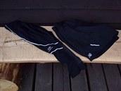 Elastické ¾ kalhoty Kalenji a pánské šortky od New Balance