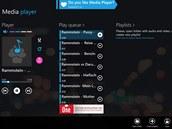 Media Player najde na internetu vaši oblíbenou hudbu a nabídne vám přehrávání...