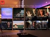 Couch Potato je rozcestníkem ke stovkám filmů, dostupných na YouTube a dalších...