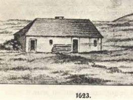Luční bouda s datem vzniku 1623, ve skutečnosti však v podobě z 1. poloviny 19....
