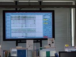 """""""Co je to na tom monitoru za křivky?"""" ptali jsme se se zájmem. """"To nic, to je..."""