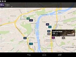 Aplikace Hotel Tonight vám pomůže najít nejbližší hotel s volným pokojem na...