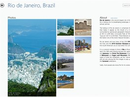 V aplikaci Georama si můžete projít snímky a informace o zajímavých městech po...