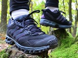 Trailová obuv s Gore-texovou membránou se hodí obzvláště do zimních podmínek...