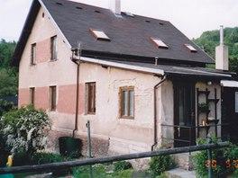 Pohled na dům před rekonstrukcí