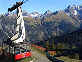 Lanovka Fellhornbahn