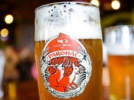 Pivo z Luční boudy se jmenuje Paroháč.