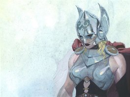Marvel představil komiksového Thora jako ženu