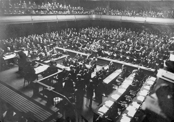 Zased�n� Spole�nosti n�rod� v roce 1926