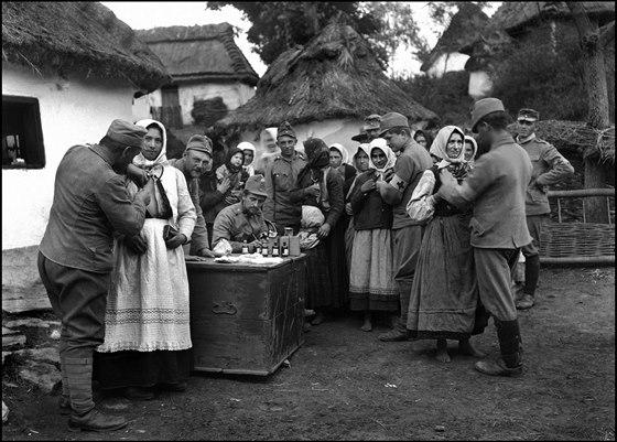 O�kov�n� civilist� � Burkan�w, 29. 11. 1915