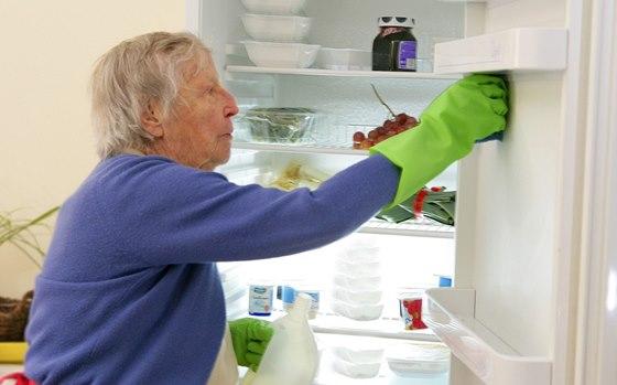 Pokud je chladnička vybavená technologií NoFrost, je její údržba minimální.