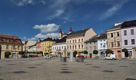 Šternberk, náměstí