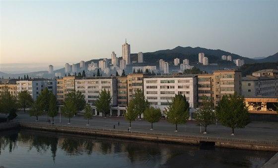 Severní Korea, Wonsan - nábřeží