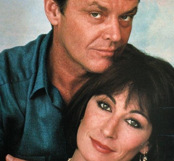 Jack Nicholson a Anjelica Hustonová (1985)