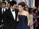 Oscar - Sandra Bullocková a Keanu Reeves