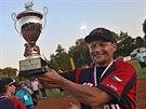 Čeští softbalisté vyhráli v domácím prostředí mistrovství Evropy a hrdě...