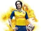 """Jeden z vůdců """"nového"""" Arsenalu Tomáš Rosický."""