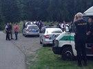 Policisté u obce Malé Kyšice na Kladensku pátrají po mladém muži, který...