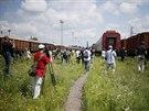 Nizozemsk� premi�r Mark Rutte v �ter� r�no uvedl, �e vlak je ji� v bezpe�n�...