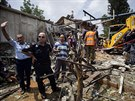 V úterý se izraelská armáda zaměřila na 150 cílů na jihu a v centru Pásma Gazy...