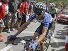Český cyklista Leopold König v 16. etapě Tour de France.