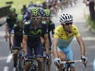 Ital Vincenzo Nibali v 18. etapě Tour de France