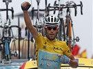 POČTVRTÉ. Italský cyklista Vincenzo Nibali vyhrál osmnáctou a na této Tour de