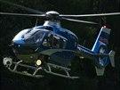 Do pátrací akce u Malých Kyšich na Kladensku byl povolán také vrtulník (22....