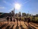 Slunce po všechny čtyři festivalové dny žhnulo jako v tropech, desetitisíce...