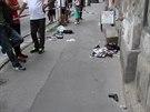 """Místo, kde v pražské plzeňské ulici došlo ke konfliktu kvůli """"falešnému""""..."""