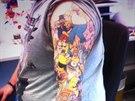 Lee Weir chtěl tetováním s Homerem Simpsonem původně naštvat otce, který je...