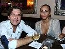 Martin Pouva si s expřítelkyní Petrou Friedlovou i po rozchodu rád zajde na...