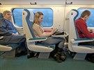 Klid na čtení - samostatná sedadla ve velkoprostorovém voze mohou paradoxně...